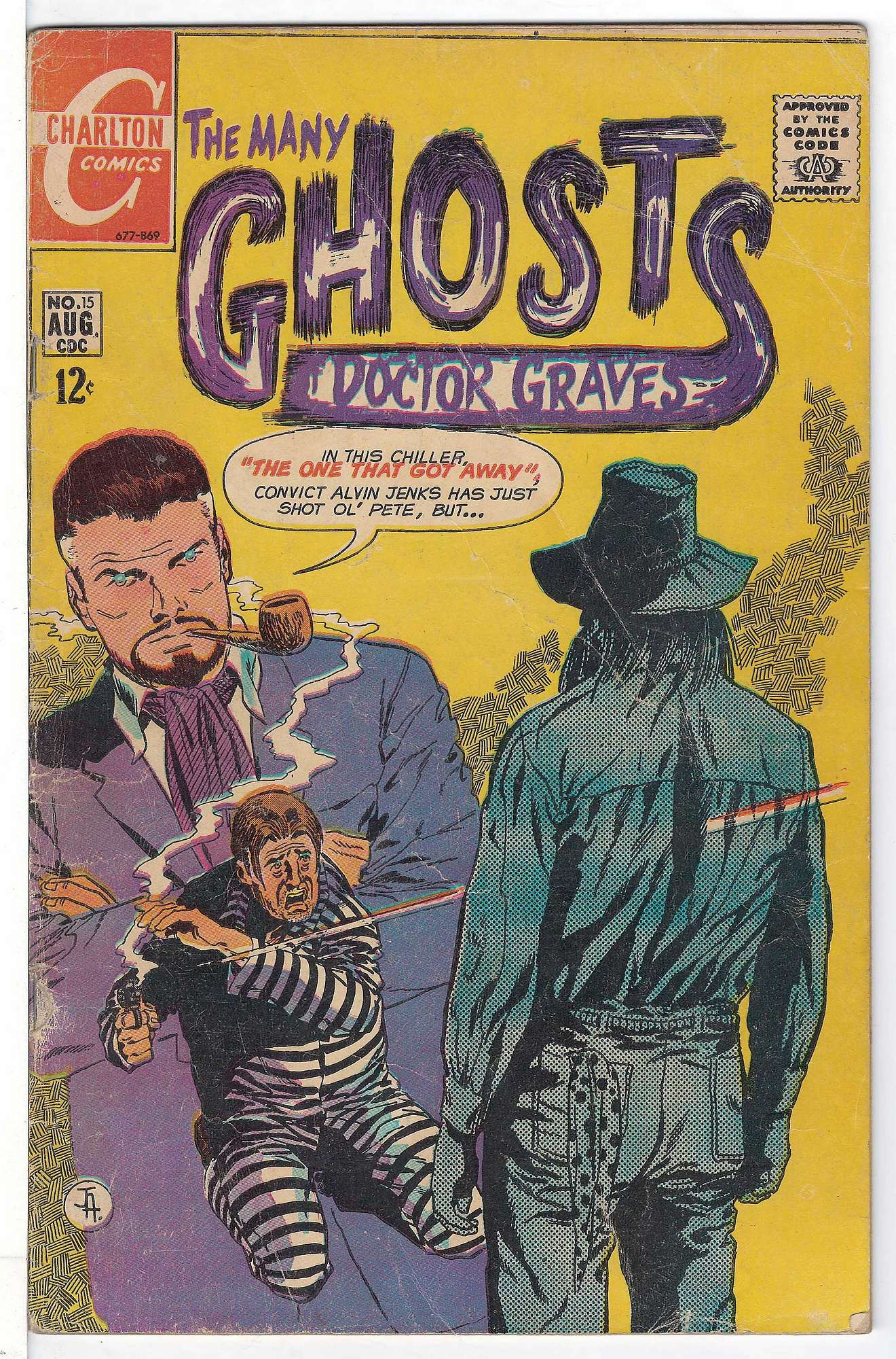 Cover of Many Ghosts of Doctor Graves #15. One of 250,000 Vintage American Comics on sale from Krypton!