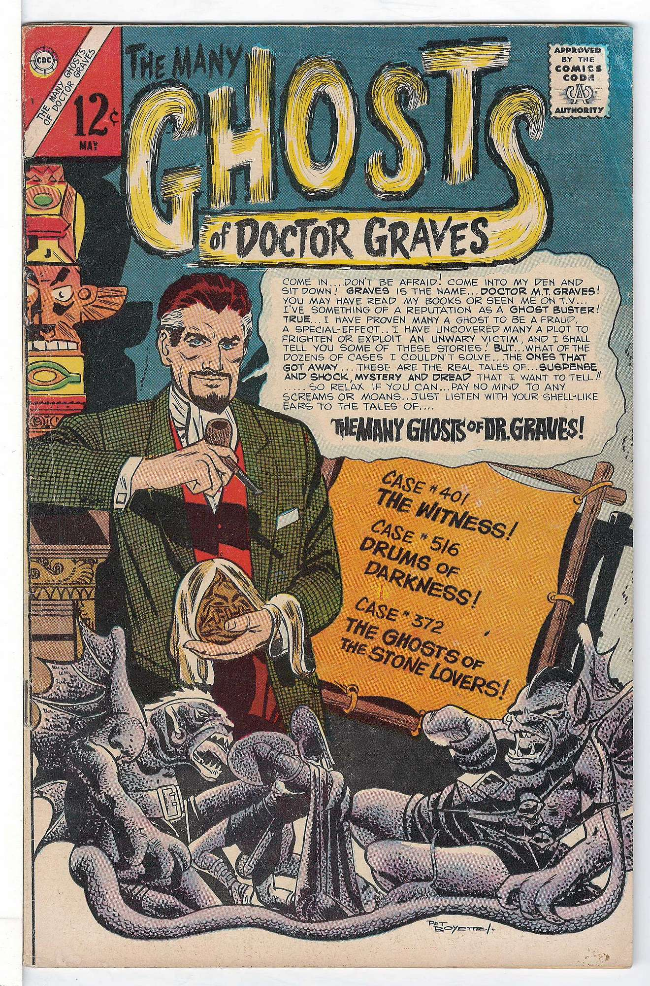 Cover of Many Ghosts of Doctor Graves #1. One of 250,000 Vintage American Comics on sale from Krypton!