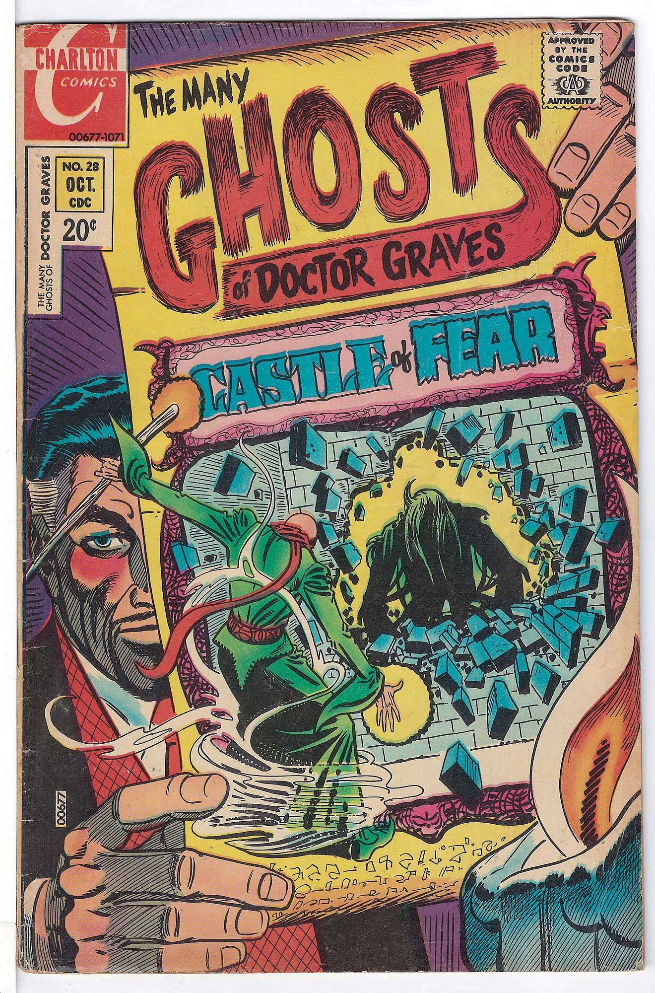 Cover of Many Ghosts of Doctor Graves #28. One of 250,000 Vintage American Comics on sale from Krypton!