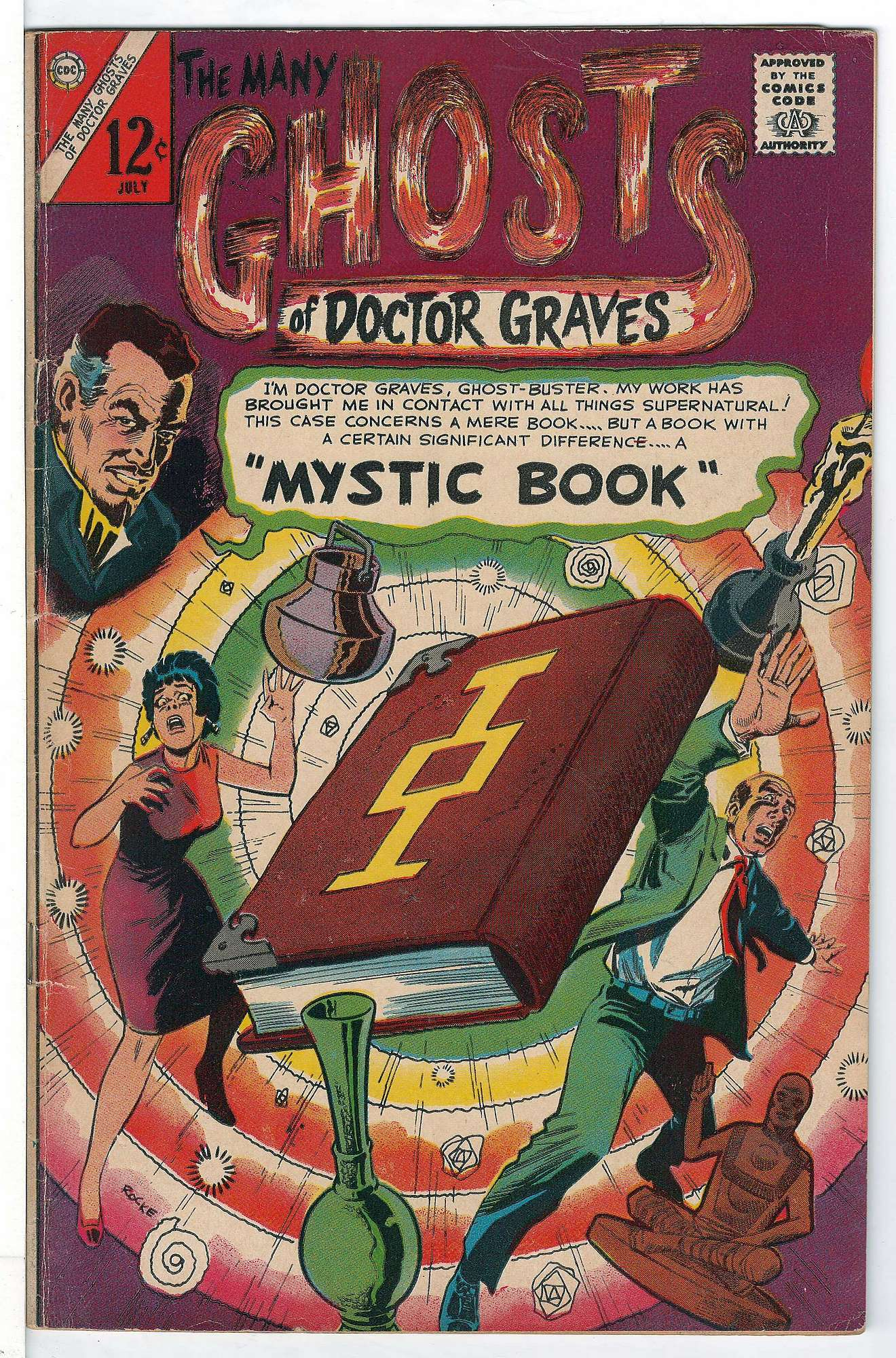 Cover of Many Ghosts of Doctor Graves #2. One of 250,000 Vintage American Comics on sale from Krypton!