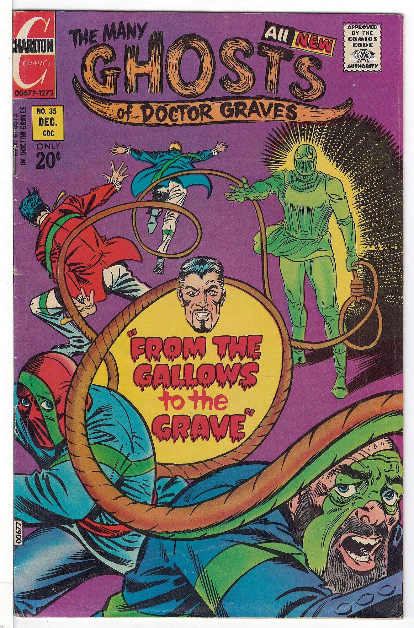 Cover of Many Ghosts of Doctor Graves #35. One of 250,000 Vintage American Comics on sale from Krypton!