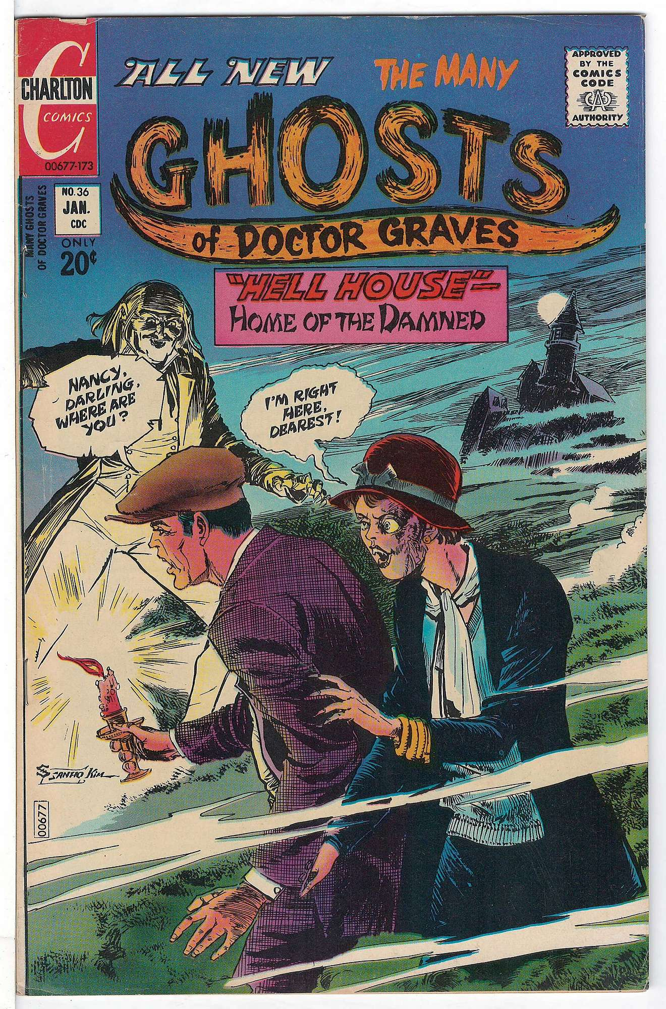 Cover of Many Ghosts of Doctor Graves #36. One of 250,000 Vintage American Comics on sale from Krypton!