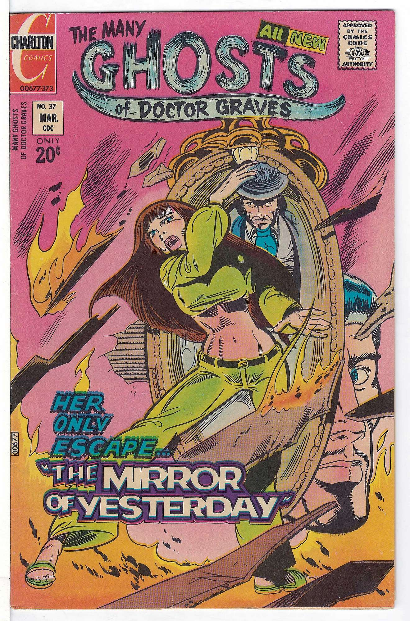 Cover of Many Ghosts of Doctor Graves #37. One of 250,000 Vintage American Comics on sale from Krypton!