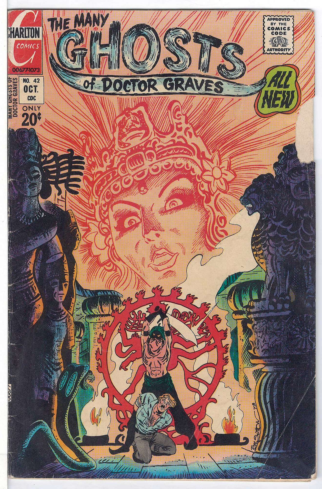 Cover of Many Ghosts of Doctor Graves #42. One of 250,000 Vintage American Comics on sale from Krypton!