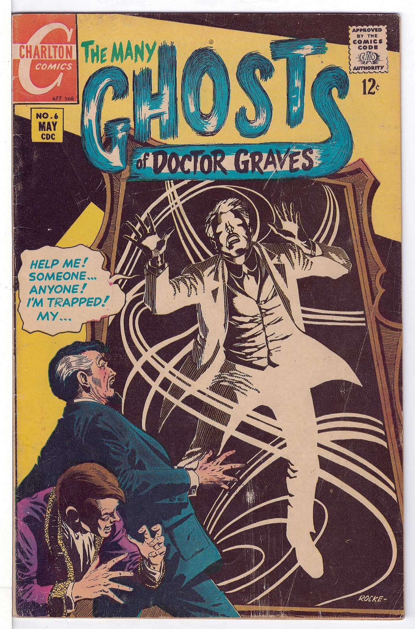 Cover of Many Ghosts of Doctor Graves #6. One of 250,000 Vintage American Comics on sale from Krypton!