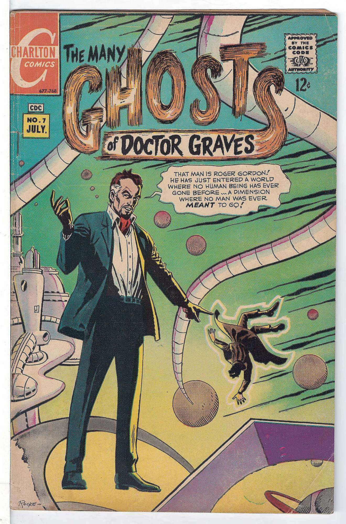 Cover of Many Ghosts of Doctor Graves #7. One of 250,000 Vintage American Comics on sale from Krypton!