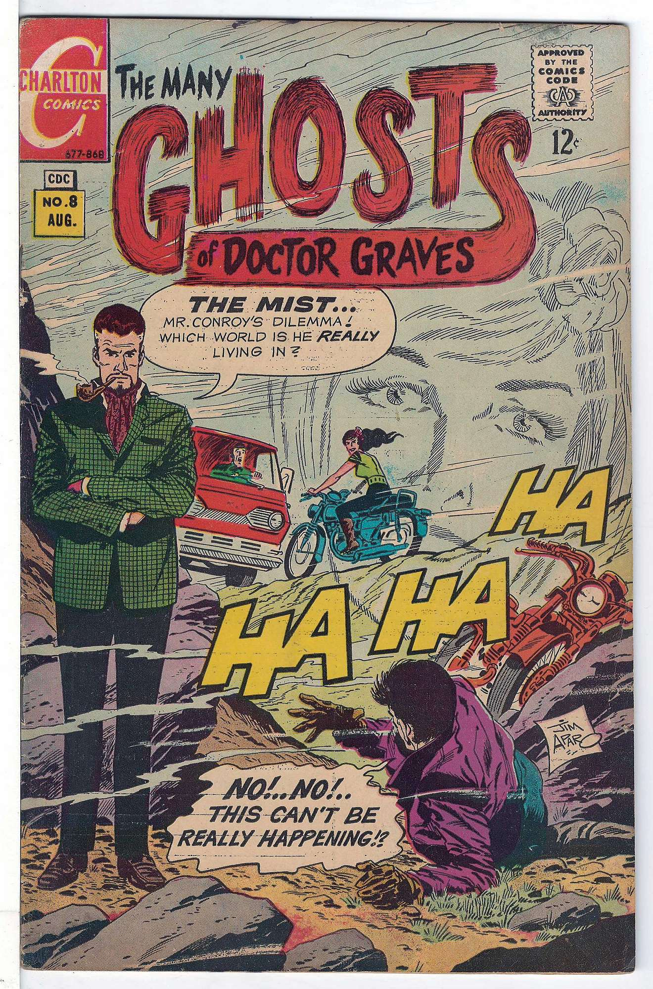Cover of Many Ghosts of Doctor Graves #8. One of 250,000 Vintage American Comics on sale from Krypton!