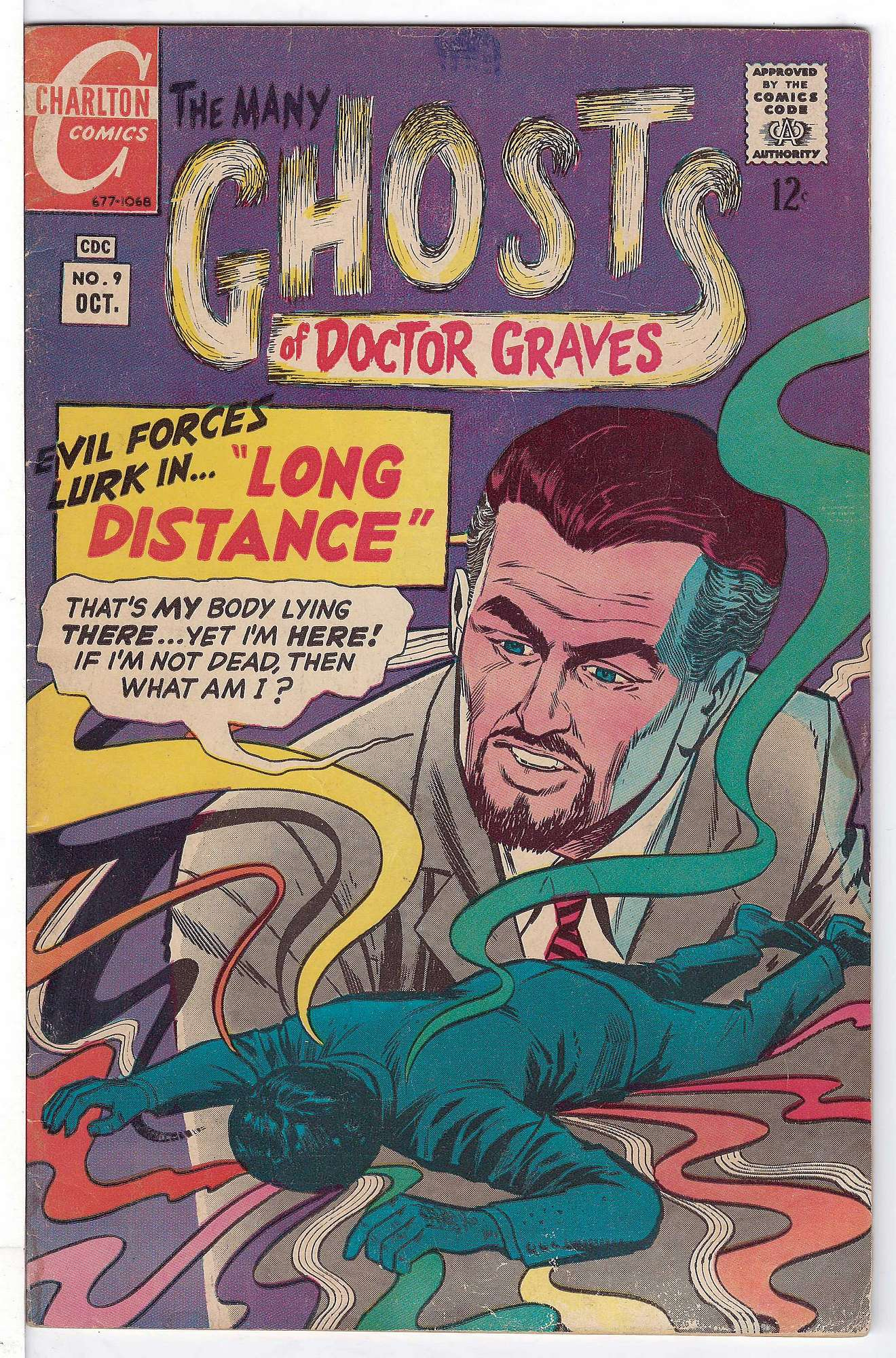 Cover of Many Ghosts of Doctor Graves #9. One of 250,000 Vintage American Comics on sale from Krypton!